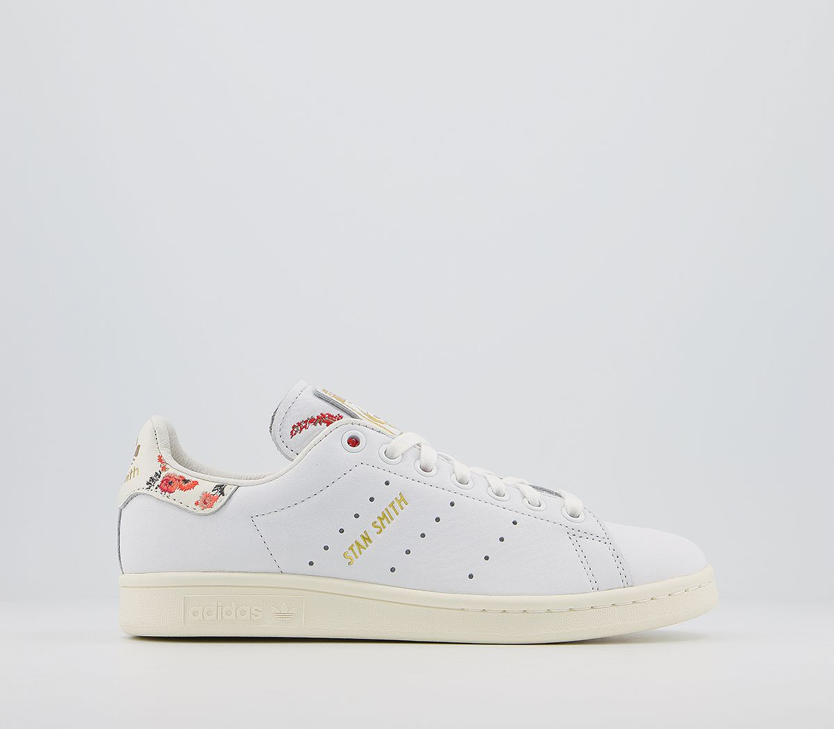ADIDAS STAN SMITH Casual Mujer Blanco Blanco roto Floral FE4380