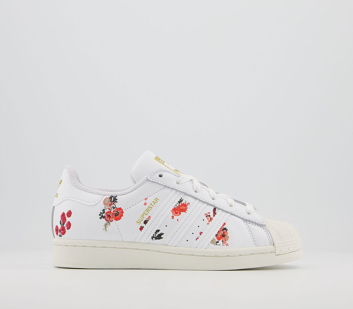 Casual ADIDAS SUPERSTAR Mujer Blanco Floral Blanco roto EG4048